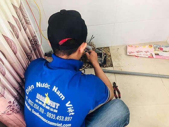 Lắp máy bơm nước quận Bình Tân