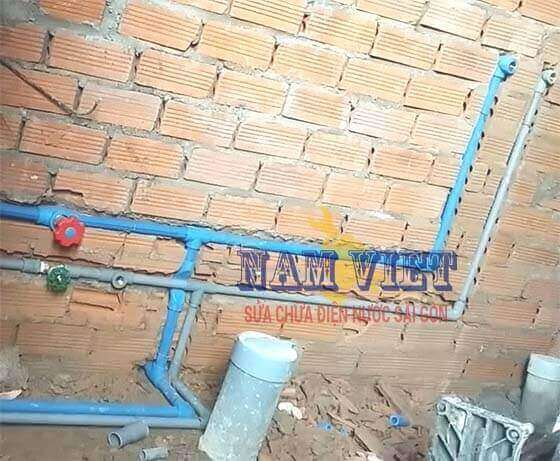Lắp hệ thống cấp thoát nước căn hộ