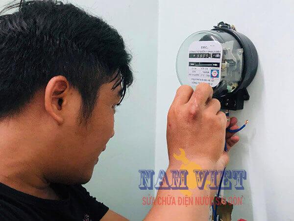 Lắp đồng hồ điện nhà trọ quận Gò Vấp