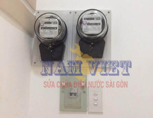 Lắp đồng hồ nhà trọ quận Gò Vấp