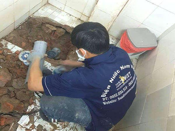 Sửa rò rỉ nước nhà vệ sinh