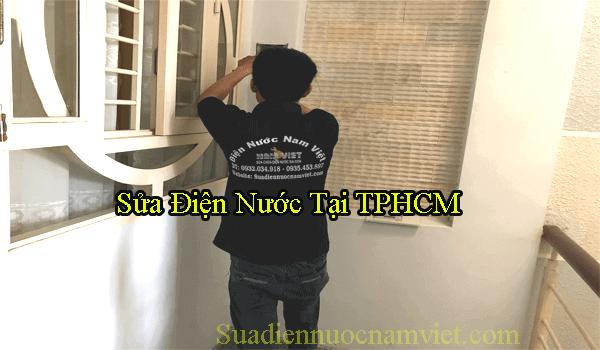 Thợ sửa điện nước quận Bình Tân