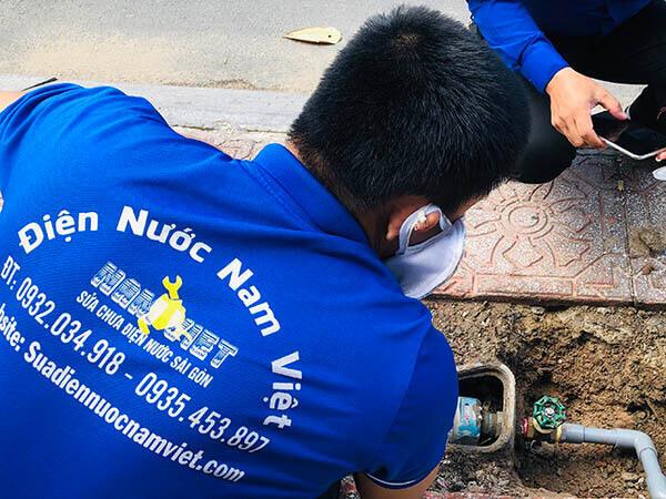 Thợ sửa điện nước quận Tân Bình