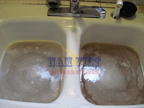 Thông tắc lavabo, bồn rửa chén tại TPHCM